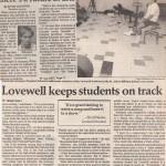Stephen Schwartz in Salina, Kansas with Lovewell
