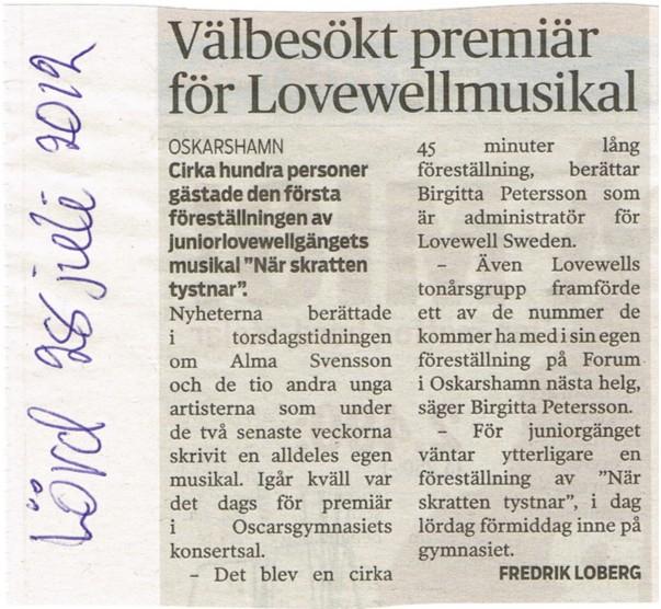 Nyheterna July 28, 2012
