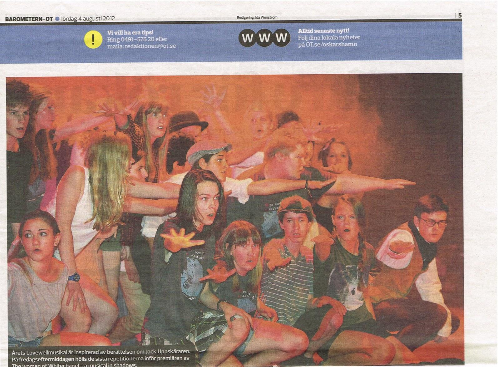 Oskarshamns Tidningen August 4, 2012
